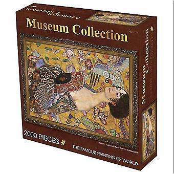 Lady 2000 pieces of oil painting adult puzzle educational toys,creative decompression birthday gift az4037