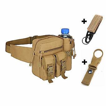 nieuwe kaki zak en haken tactische taille zak waterfles telefoon zakje voor buitensporten sm16566