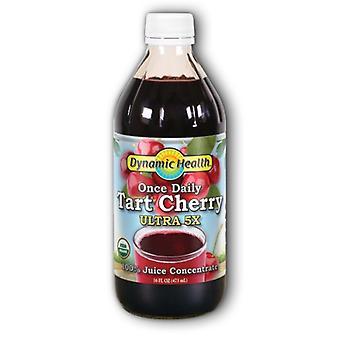 Dynamic Health Laboratories Tart Cherry Ultra 5X, 16 Oz
