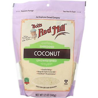 Bobs Red Mill Coconut Shredded, Case of 4 X 12 Oz