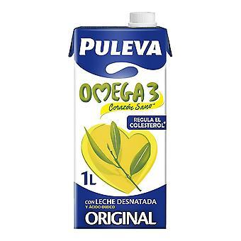 Skummet melk Puleva Omega 3 (1 L)