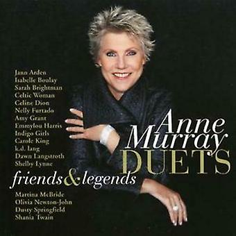 Anne Murray Duets Friends and Legends CD (2008)