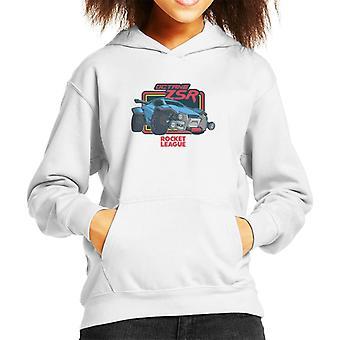 Rocket League oktan ZSR Kid's Hooded Sweatshirt