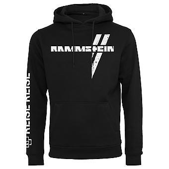 Rammstein Unisex Hoodie White Cross