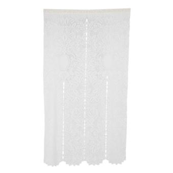Mesh-blend Textured Curtains Durable Fabric - Adds Subtle Texture