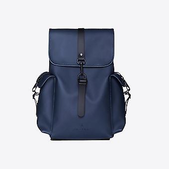 Regn ryggsäck stor blå ryggsäck
