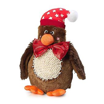 Dog toys christmas turkey and bow tie squeaky dog toy