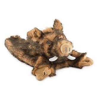 Dog toys huge hog plush toy no squeak 50cm