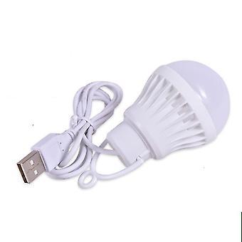 Lanterna portatile luci da campo 1.2m lampadina usb 5w / 7w potenza campeggio all'aperto multi strumento 5v led per tenda