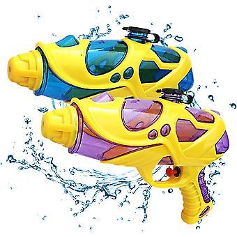 2 Stück Sommer Pool Wasserpistole Outdoor Spielzeug für Kinder und Erwachsene