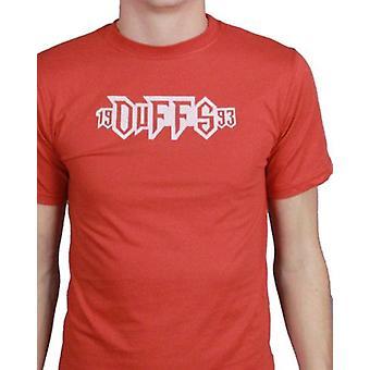 Duffs boys t-shirt - Gargoyle red
