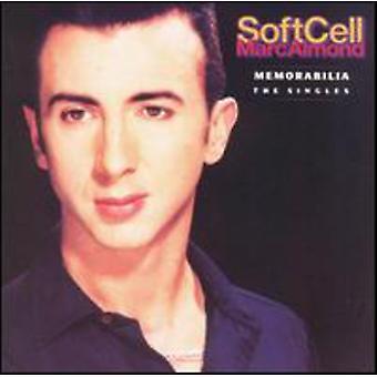 Zachte cel/Marc Almond - Memorabilia-the Singles [CD] USA importeren
