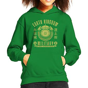 Earth Is Strong Avatar The Last Airbender Kid's Hooded Sweatshirt