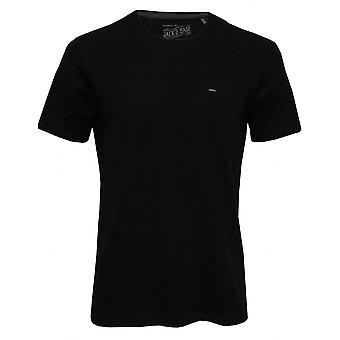 O'Neill Jacks Base Crew-Neck T-Shirt W/ Pocket, Black Out