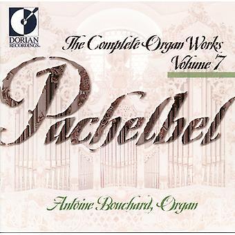 J. Pachelbel - Pachelbel: The Complete Organ Works, Vol. 7 [CD] USA import