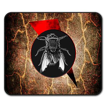 Fly Bug Insect Animal  Non-Slip Mouse Mat Pad 24cm x 20cm | Wellcoda