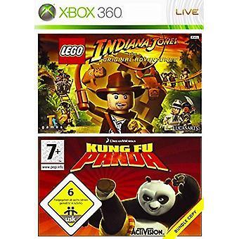 Kung Fu Panda Lego Indiana Jones Double Pack - Novo