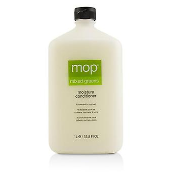 Mop Mop Mixed Greens Moisture Conditioner (for Normal To Dry Hair) - 1000ml/33.8oz