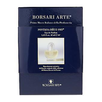 Borsari 1870 Fontana Deco 1925 Eau De Parfum 1.35Oz/40ml In Box