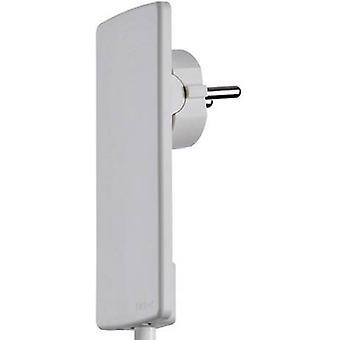 EVOline 1510.0000.0300 CEE 7/16 safety plug Plastic + unplug aid 230 V White IP20