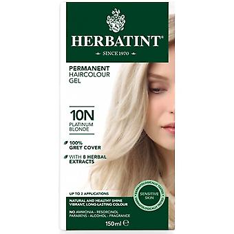 Herbatint, Platinum Blonde Hair Colou 10N, 150ml