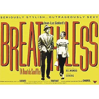 Breathless Poster A Bout de Souffle