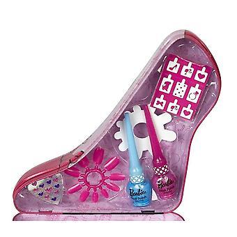 Barbie topánky krása kufor set manikúra