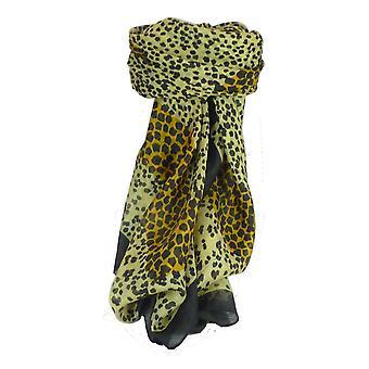 Mulberry Silk Classic Square Scarf Leopard by Pashmina & Silk