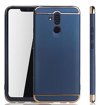 Huawei mate 20 Lite mobiili kattaa tapauksessa puskurin kova kansi Blau