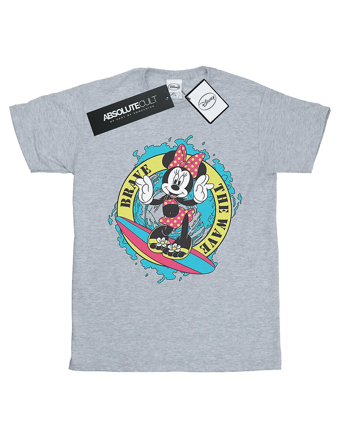 Disney Girls Minnie Mouse Brave The Wave T-Shirt