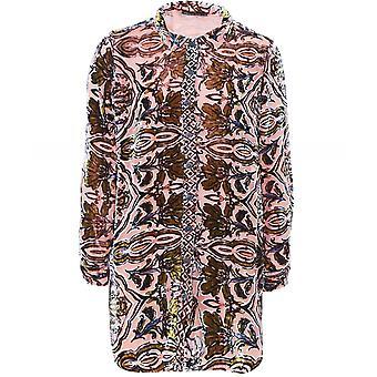 Grizas Velvet Button Through Shirt