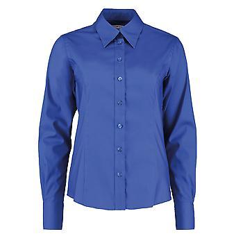 Kustom Kit Womens/Ladies Corporate Oxford Long Sleeved Blouse
