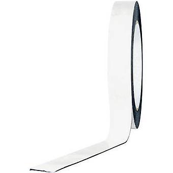 TOOLCRAFT 1811B1533C 1811B1533C Dobbeltsidig tape Hvit (L x B) 33 m x 15 mm 33 m