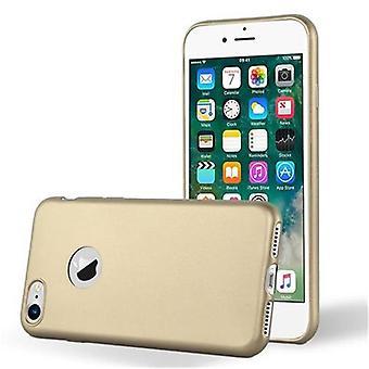カドラボケースアップルiPhone 7 / iPhone 7S / iPhone 8ケースカバー - 柔軟なTPUシリコーン製の電話ケース - シリコーンケース保護ケースウルトラスリムソフトバックケースバンパー