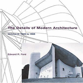 Detaljer af moderne arkitektur - 1928 til 1988 - V. 2 af Edward R. F