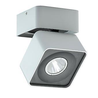 Glasberg - LED Spotlight Single Closed Square In Black And White 637016901