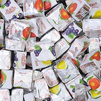 5 pack 175 g poser av fruktig karameller tygger