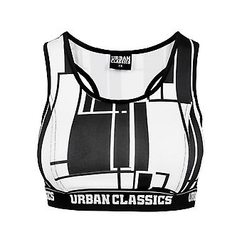 Urban Classics Damen Bustier Graphic Sport