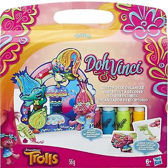 Play-Doh DohVinci Trolle Custom Desk Organizer