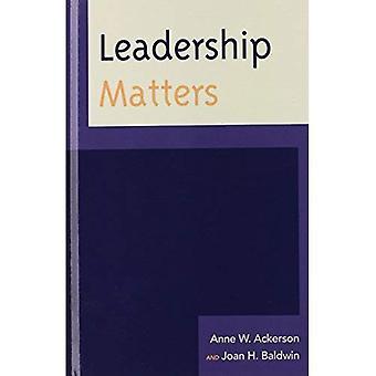Questions de leadership