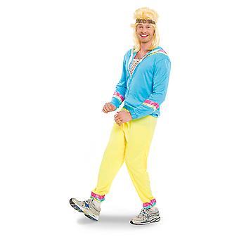 80-luvulla lenkkeily sopivat verkkarit lenkkeilijät miesten puku