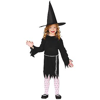 Filles Valeur Witch Fancy Dress Costume Halloween