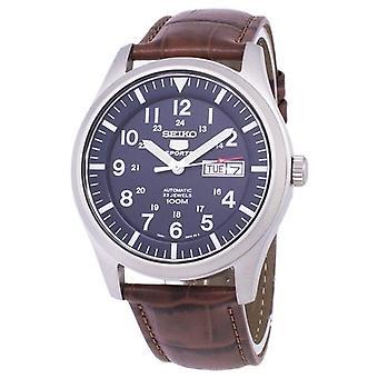 Seiko 5 urheilu automaattinen suhde ruskea nahka Snzg11k1-LS7 miesten ' s Watch
