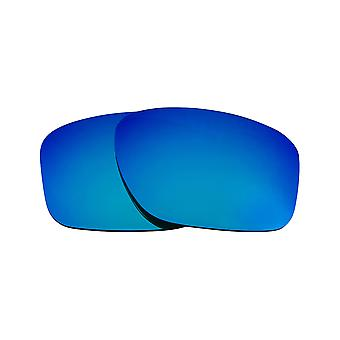 Replacement Lenses for Oakley Sliver Sunglasses Blue Mirror Anti-Scratch Anti-Glare UV400 by SeekOptics