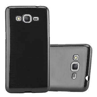Cadorabo taske til Samsung Galaxy GRAND PRIME Case Cover-fleksibel TPU silikoneetui Ultra Slim Soft tilbage Cover sag kofanger