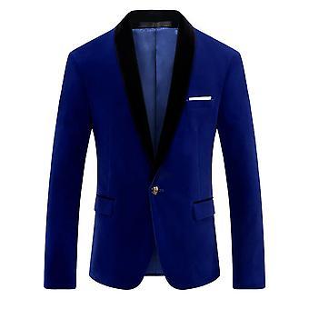 Allthemen Men's Slim Fit Four Seasons Business Casual Suit Jacke