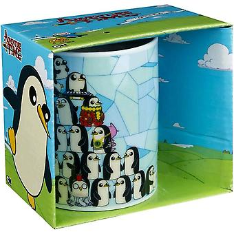 Adventure time Penguin stapel koffie mok