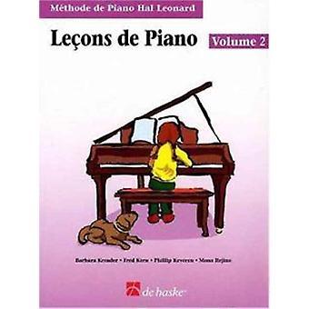 Pianolessen boek 2 Franse editie Hal Leonard student piano bibliotheek door componist Phillip Keveren & door componist Barbara kReader & door componist Fred kern & door componist Mona Rejino