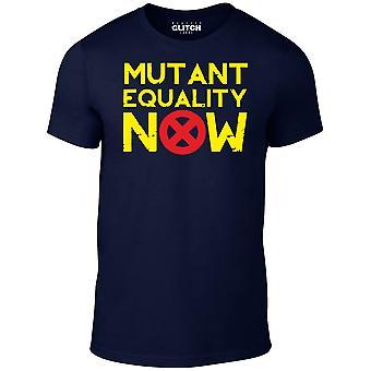 Uomini's uguaglianza mutante ora t-shirt.