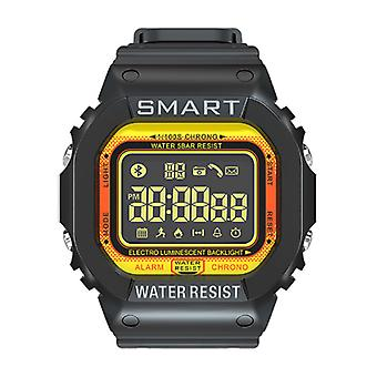 Lokmat MK22 Waterproof Sport Smartwatch Fitness Activity Tracker Smartphone Watch iOS Android iPhone Samsung Huawei Yellow